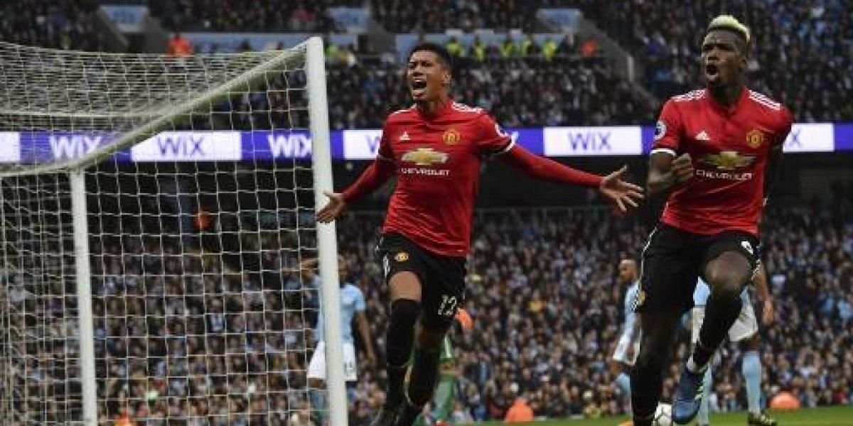 El United le aguó la fiesta al City en el clásico de Mánchester