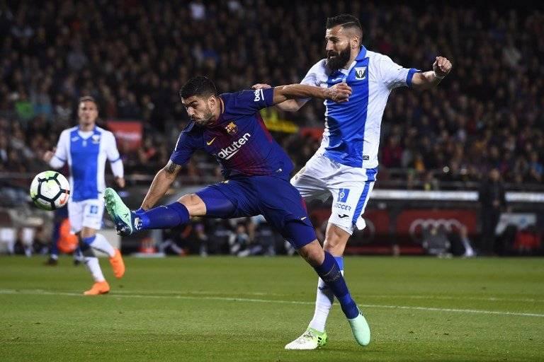 Suárez no estuvo fino a la hora de definir.