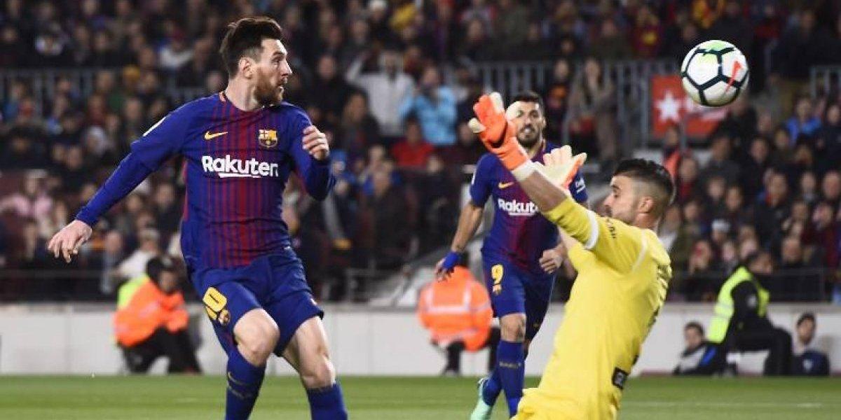 Messi saca su magia y el Barcelona llega a 38 juegos invicto