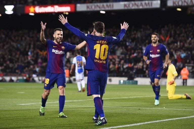 Messi fue el amo y señor del juego.