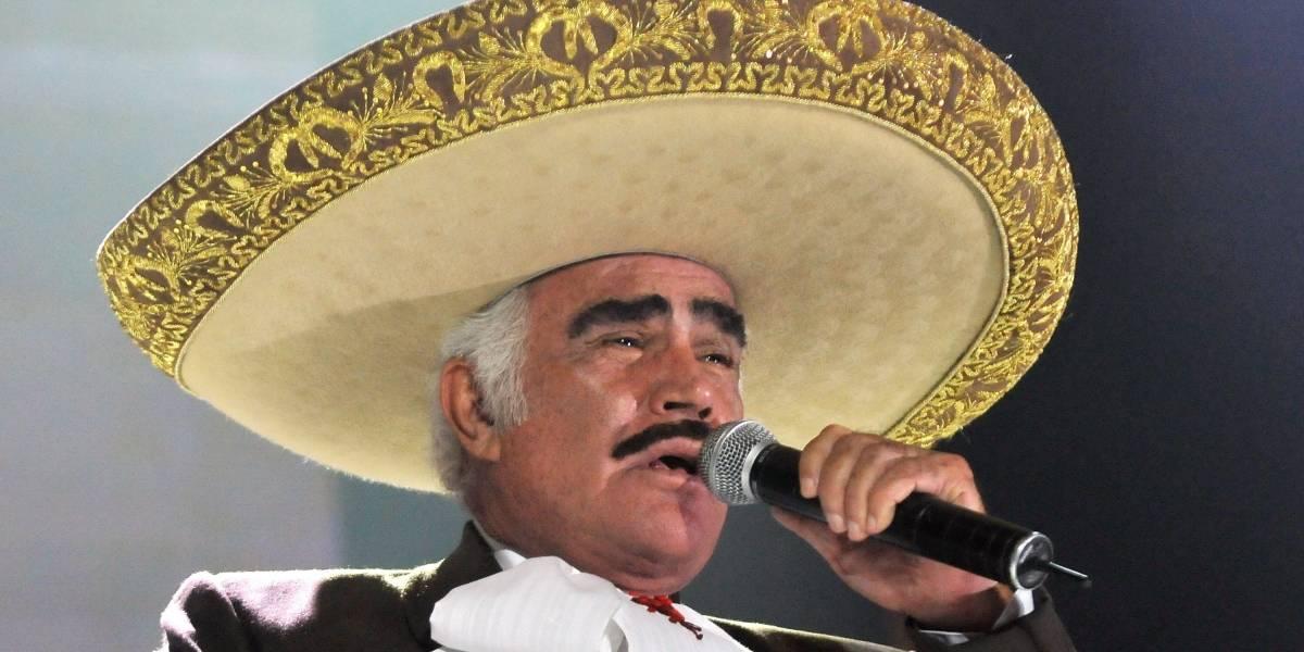 Vicente Fernández denuncia que en Colombia están usando su imagen fraudulentamente