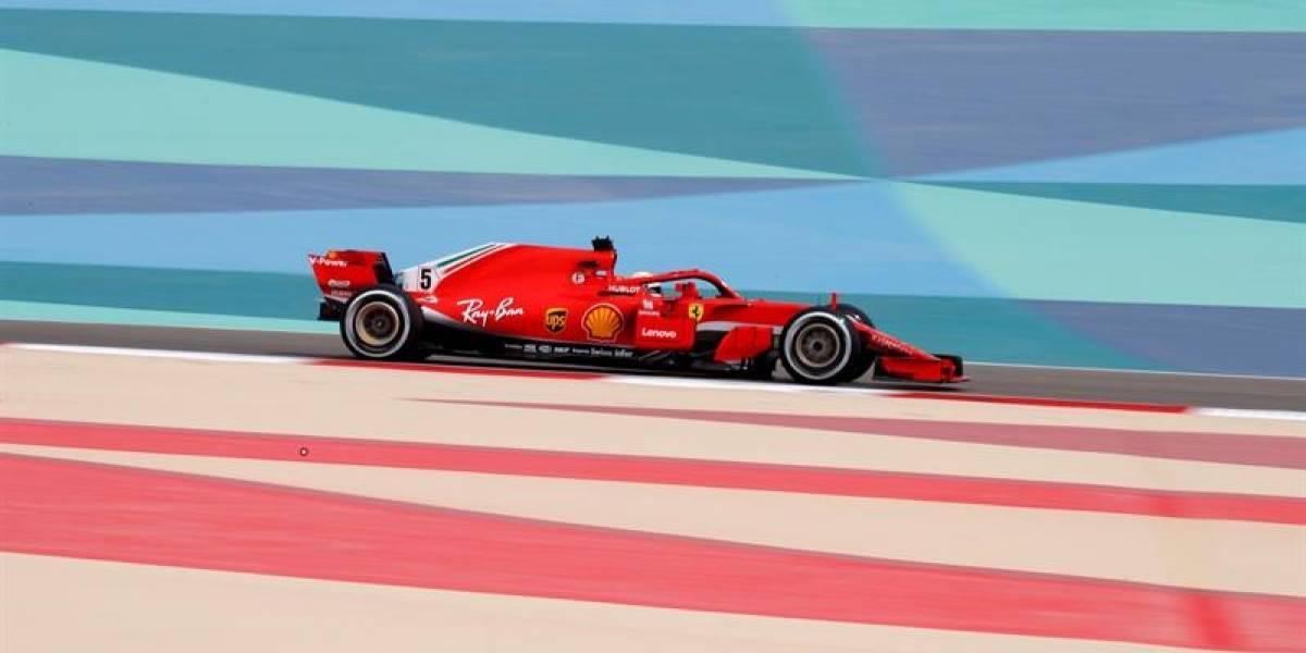 1-2 para Ferrari en la partida del Gran Premio de Bahrein