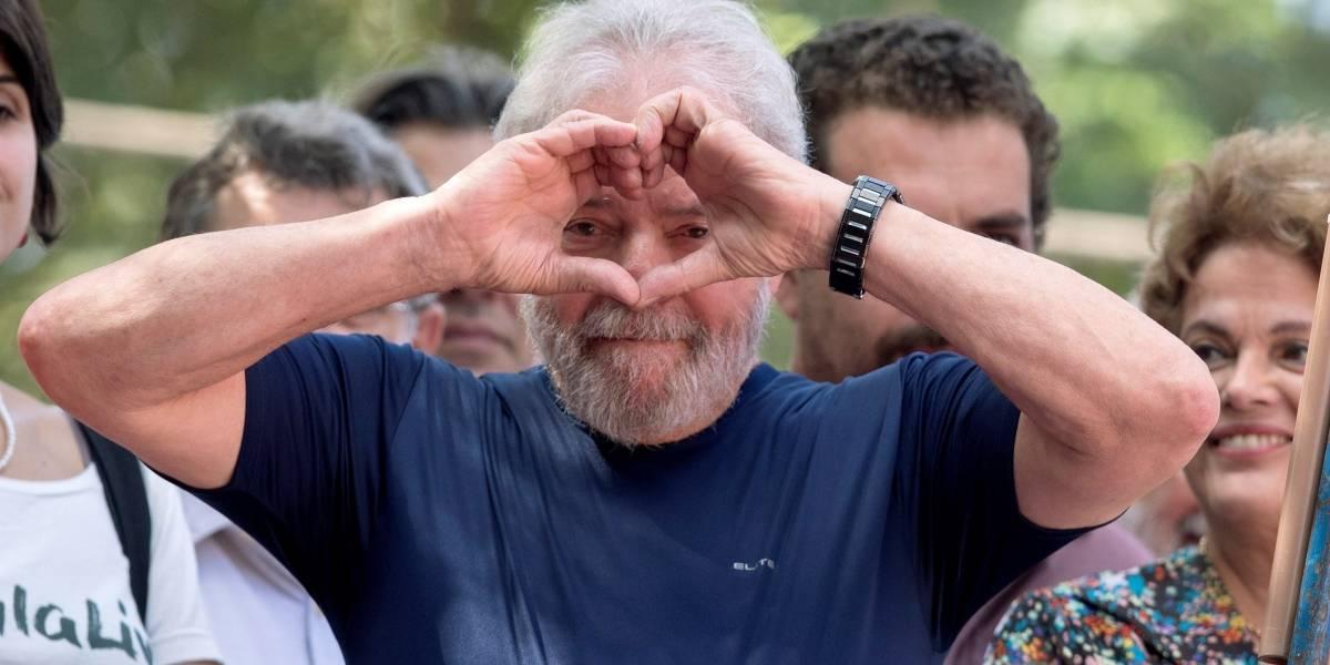 Lula, el primer expresidente de la historia de Brasil preso por corrupción