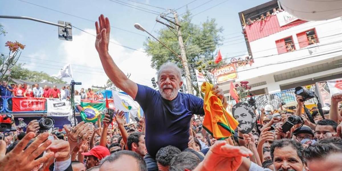 Lula da Silva anuncia se entregará en las próximas horas para demostrar que es inocente