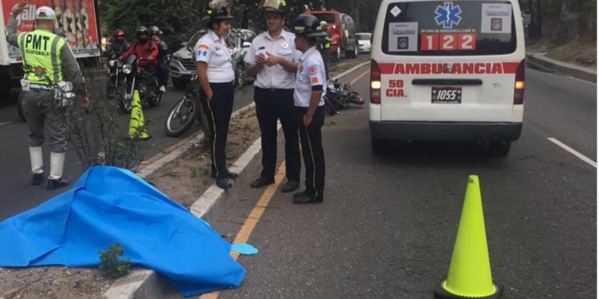 Accidentes en moto dejan dos muertos y dos heridos