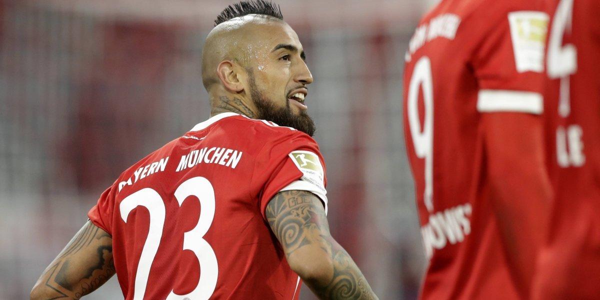 """""""Daremos todo para ganar por ti"""": El mensaje de Franck Ribery a su lesionado """"hermano"""" Arturo Vidal"""