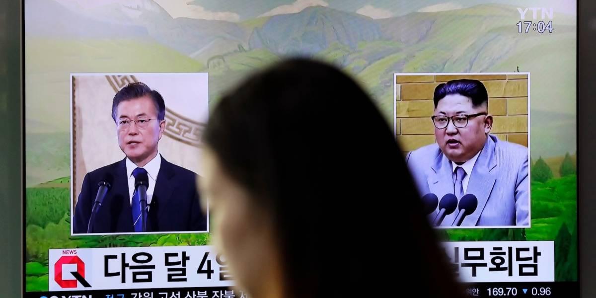 Las Coreas establecen línea telefónica entre Kim Jong-un y Moon Jae-in