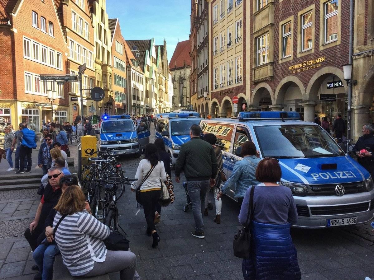 Atropello masivo en Münster, Alemania