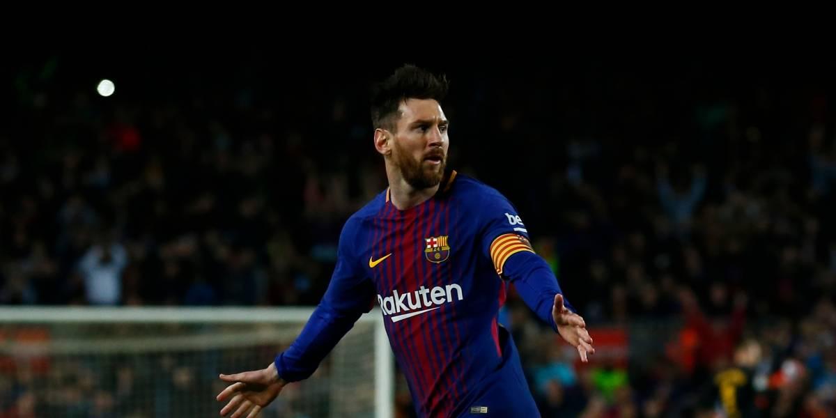 Messi guía victoria del Barcelona con tres goles