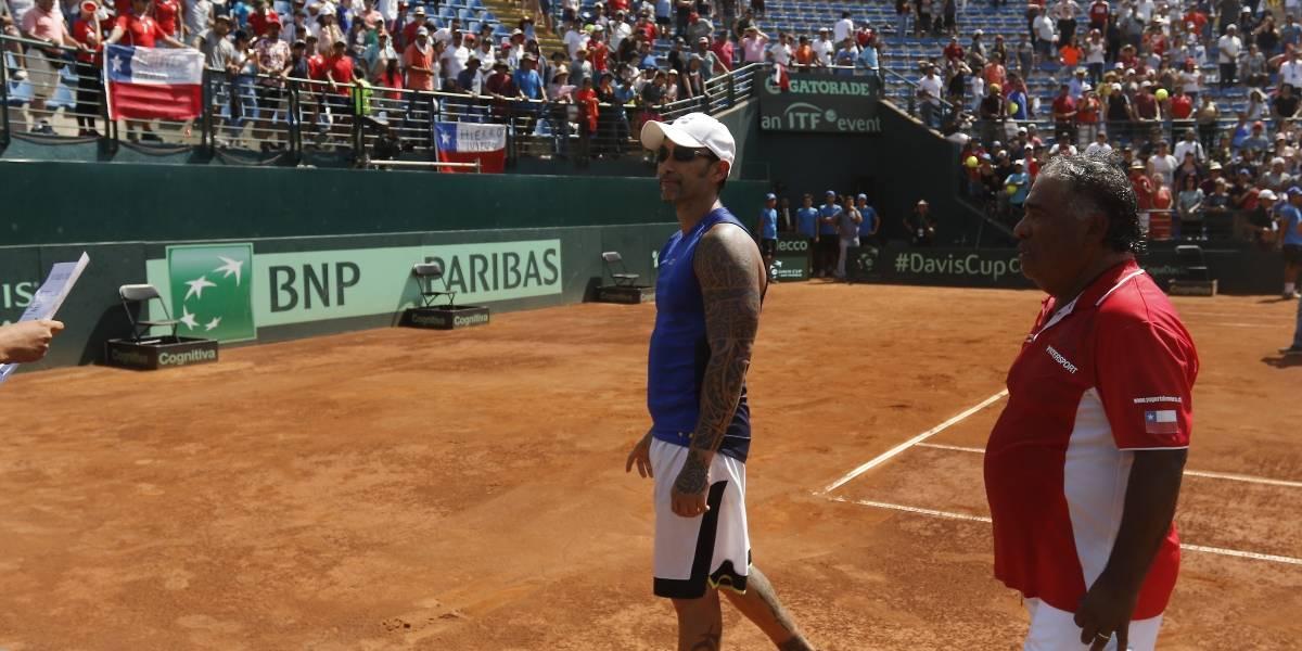 """El Chino Ríos felicitó a Argentina tras ganarnos en la Davis: """"No me queda más que felicitarlos"""""""