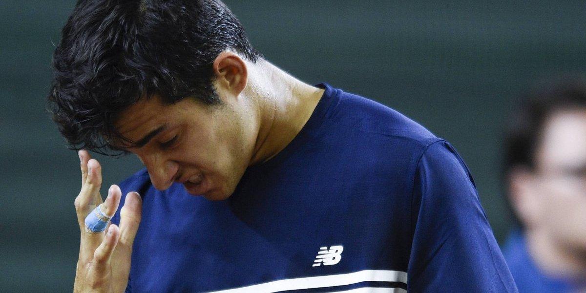 Garín no pudo con Pella y Chile perdió luchando ante Argentina en la Copa Davis