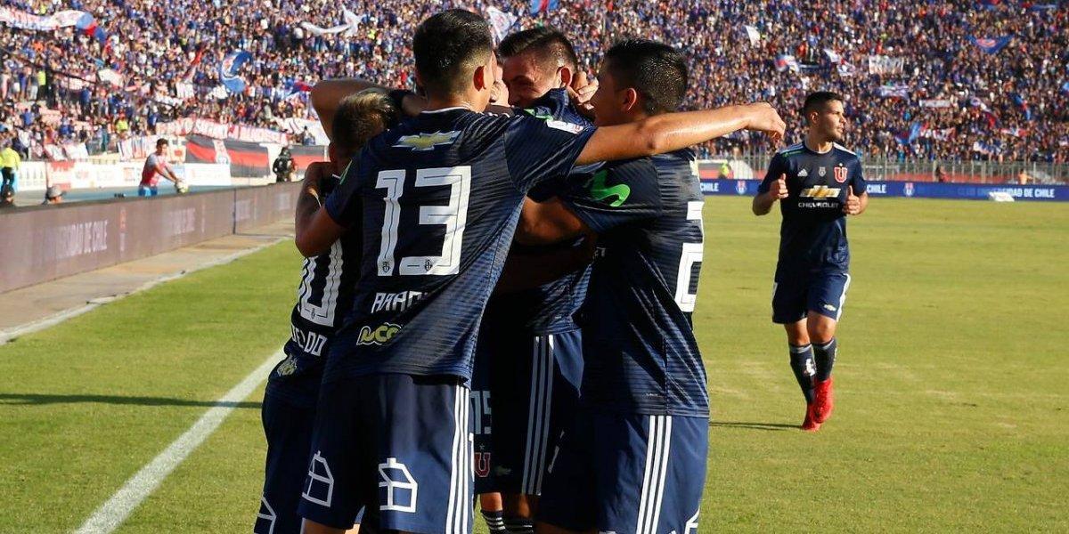 Minuto a minuto: La U vence a Curicó y se está consolidando como líder del Campeonato Nacional