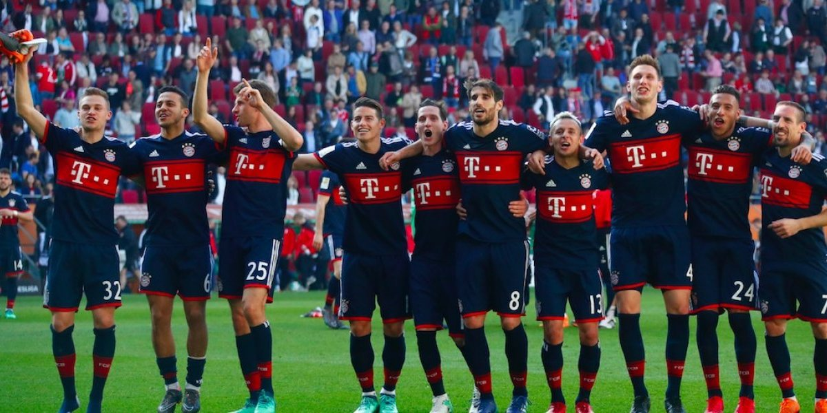 Bayern Munich se corona por sexta vez consecutiva en la Bundesliga