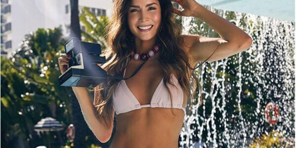 Carmen Villalobos publica sexy foto en bikini y seguidores notan un íntimo detalle