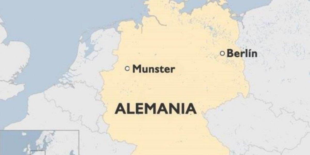 Autor del atropello en Münster tenía problemas psicológicos