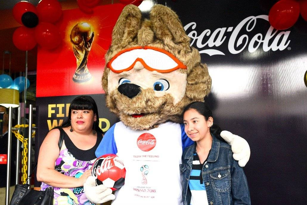 El trofeo de la Copa del Mundo llega a México