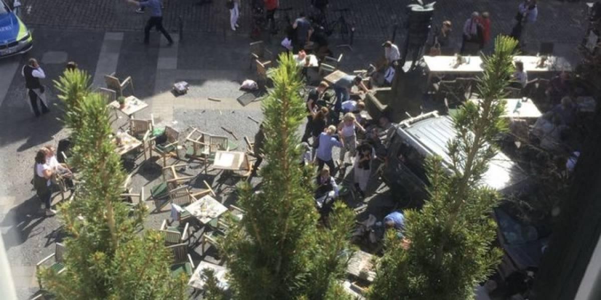 Atropello masivo en Alemania: hay varios muertos y decenas de heridos