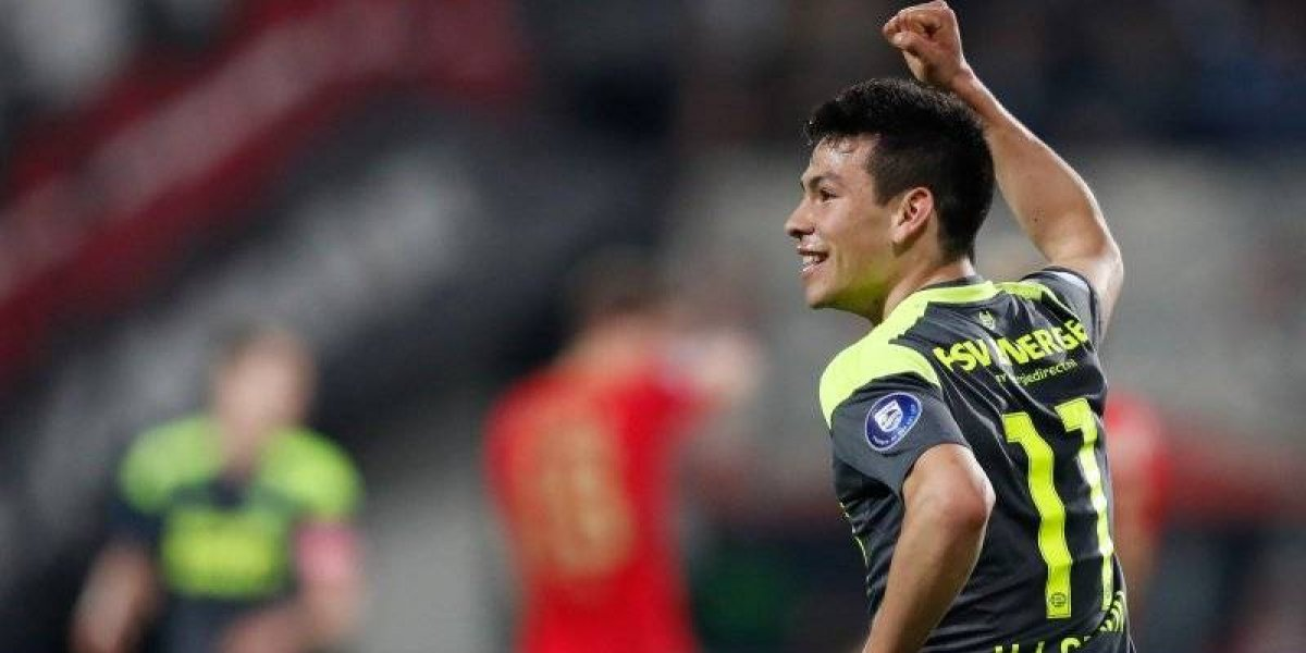 VIDEO: 'Chucky' Lozano anota increíble gol en la voltereta del PSV