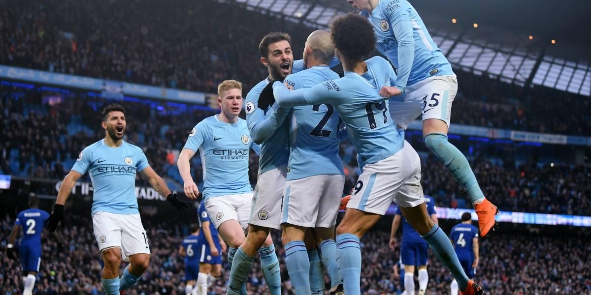 El Manchester City se prepara para ser campeón ante su eterno rival, Manchester United
