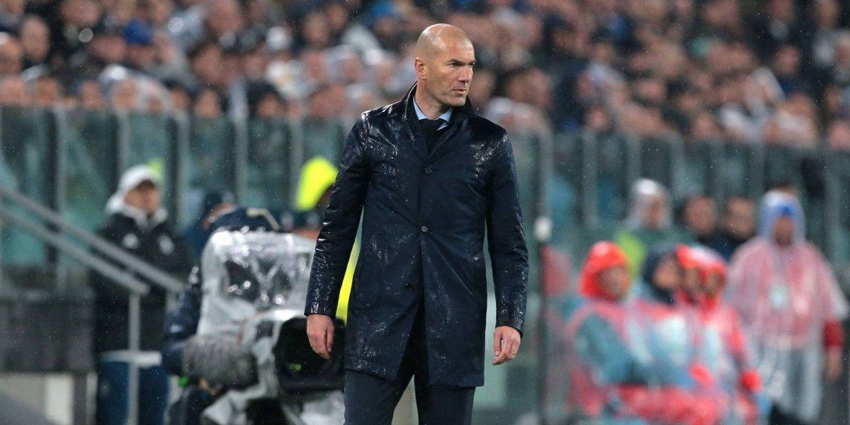 Zinedine Zidane pidió no hacer pasillo al Barcelona