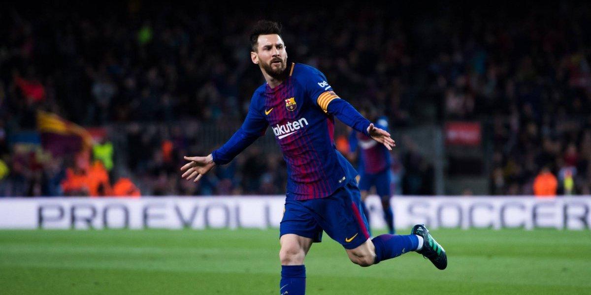 Messi, con triplete, derrota al Leganés en casa