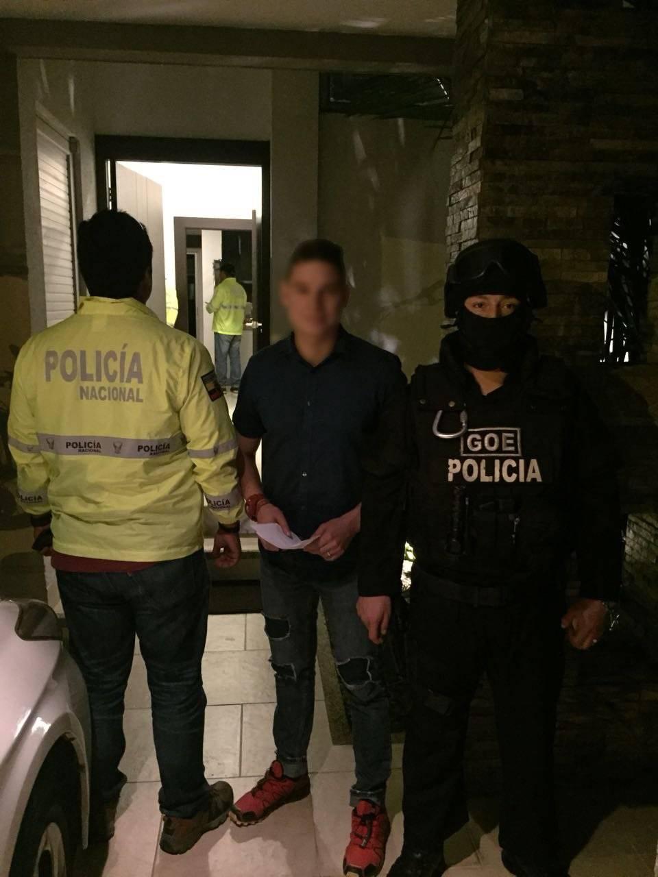 Detención Iván Espinel Twitter