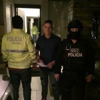 Detención Iván Espinel