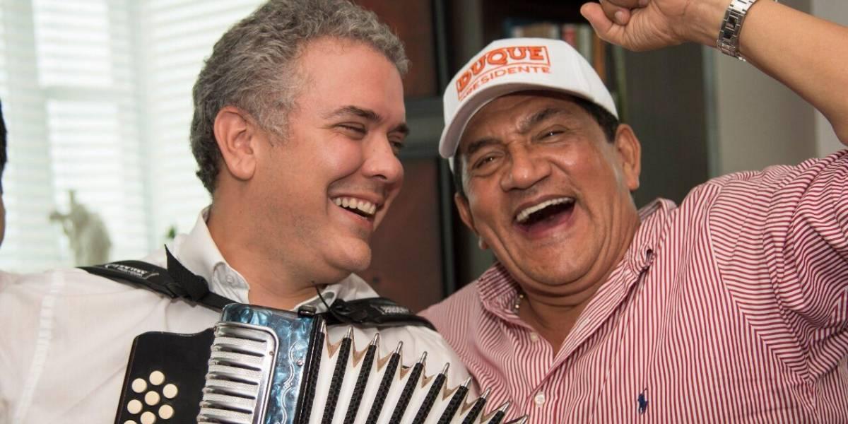 El vallenato que le compuso Poncho Zuleta a Iván Duque