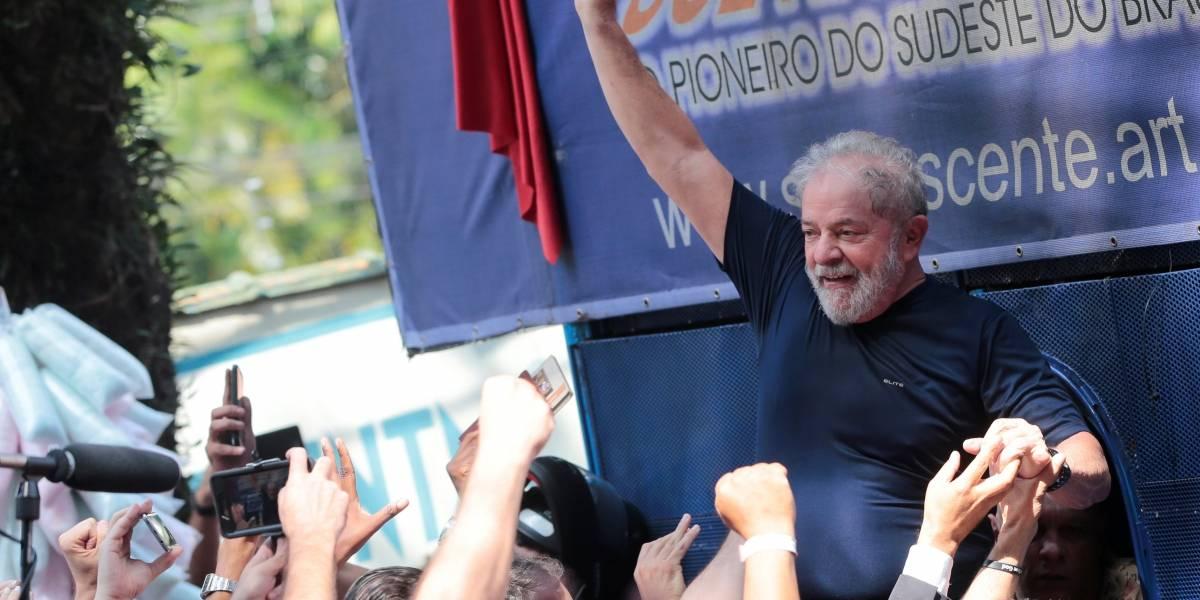 Lula passa mal após discursar durante quase uma hora