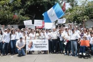Manifestación Erwin Sperisen