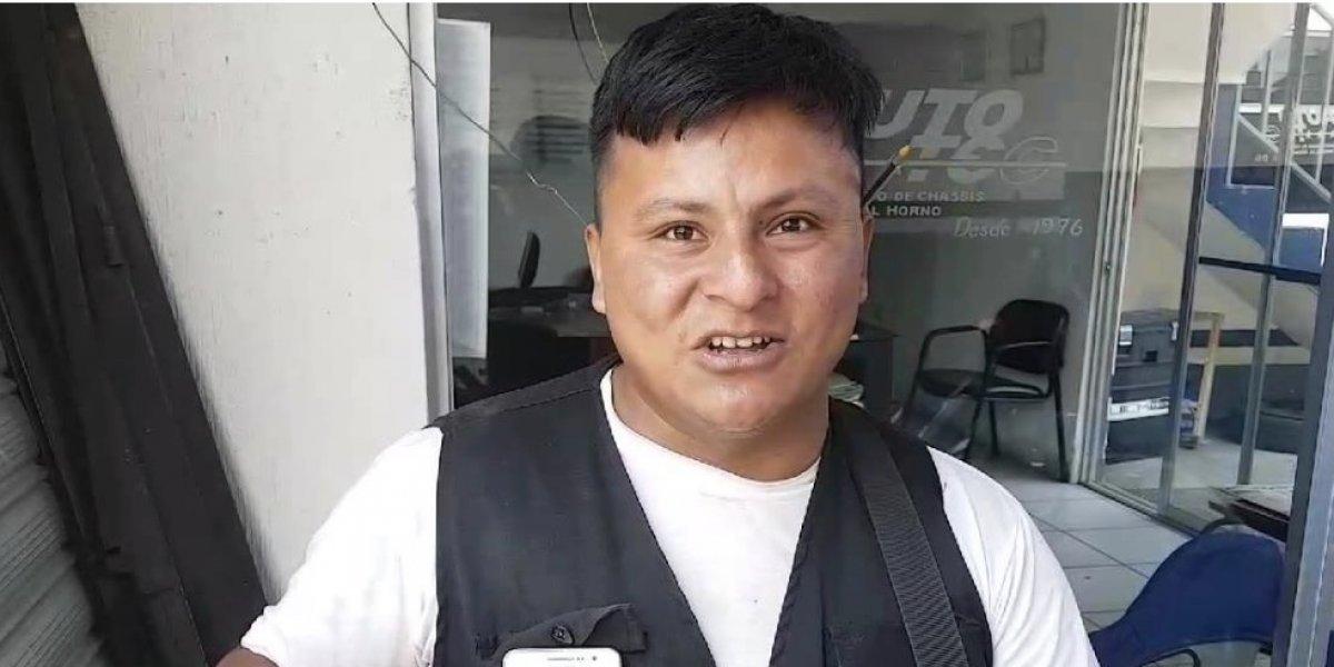 VIDEO. Pedro Pérez, el guardia de seguridad que habla 10 idiomas