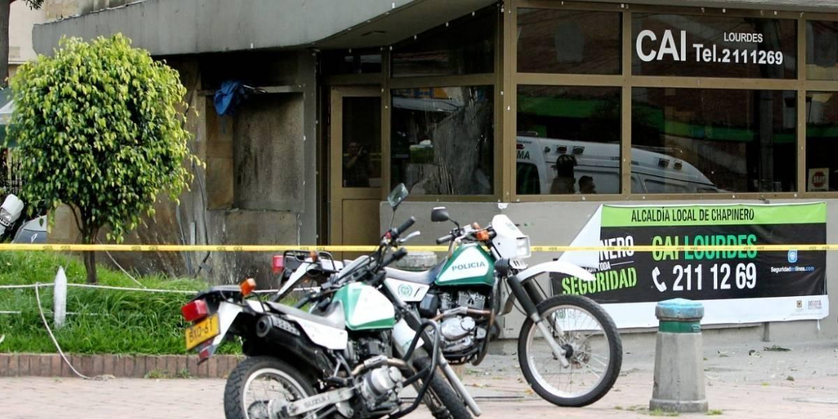 ¡Otro asalto a casa de cambio en Bogotá! Esta vez al lado de estación de Policía