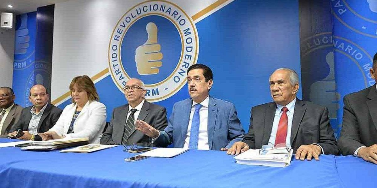 PRM publica segundo boletín de vicepresidentes y subsecretarios generale