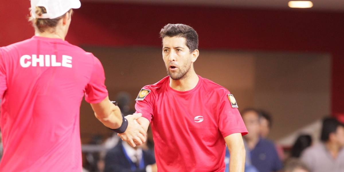 """Podlipnik dedicó el triunfo en dobles a Jarry: """"Con Nico le hemos dado grandes momentos al tenis chileno"""""""