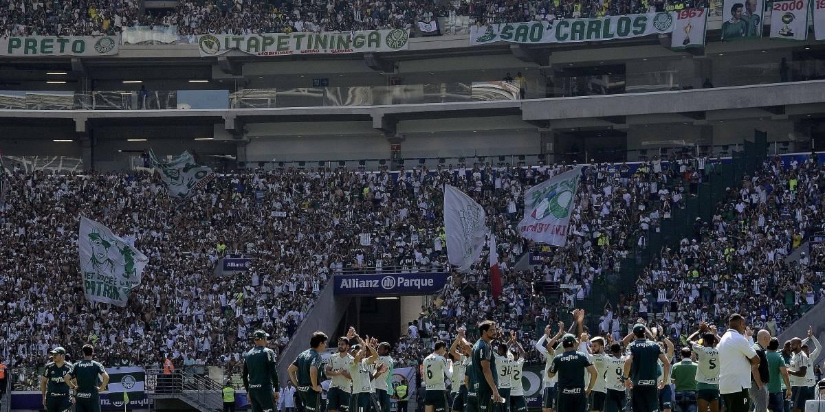 Mais de 31 mil torcedores vão ao treino aberto do Palmeiras no Allianz Parque