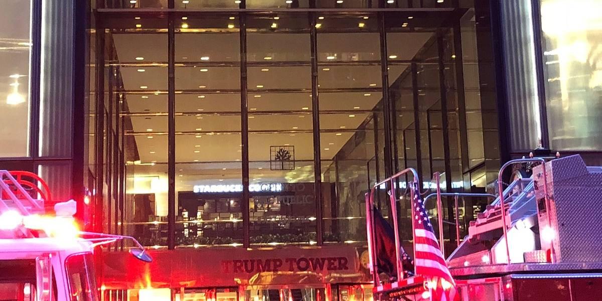 Incêndio atinge edifício de Trump em Manhattan; chamas já foram controladas