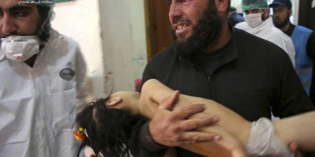Ataque químico deja al menos 40 muertos y revive los fantasmas del horror en Siria