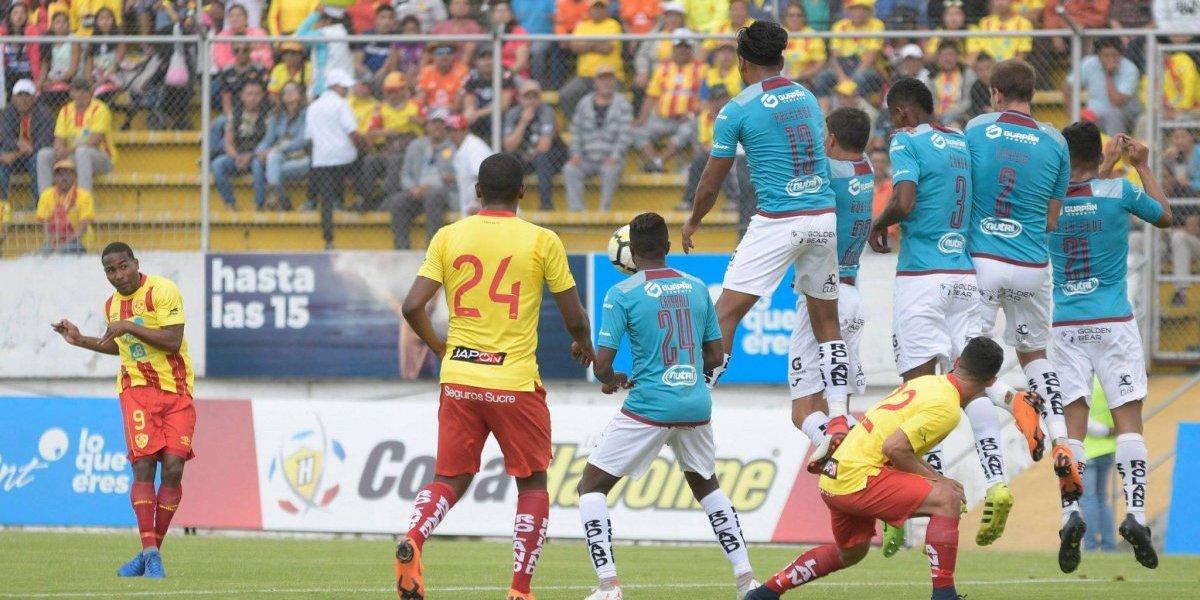 'Papá' Aucas golea a Deportivo Cuenca