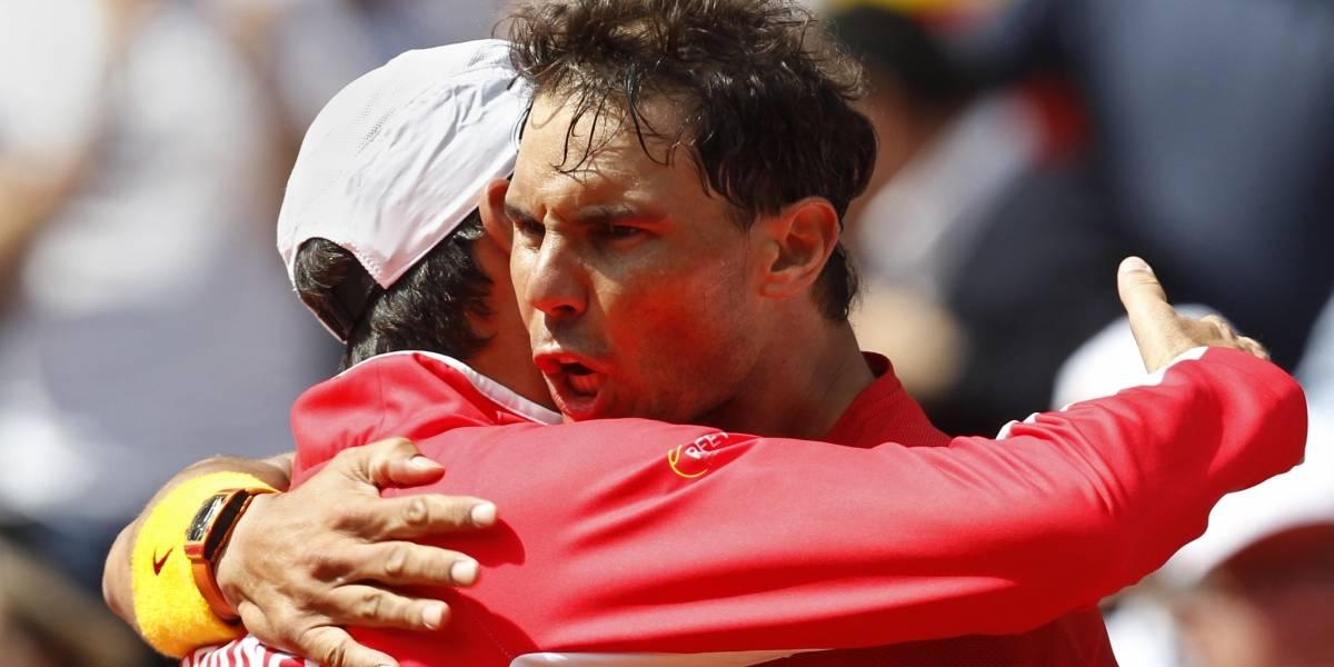 Semis de la Copa Davis: Francia-España y Croacia-Estados Unidos