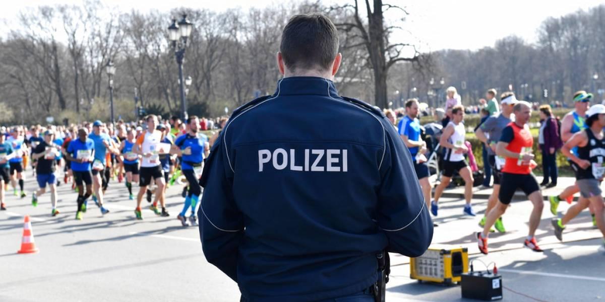 Policía alemana frustra ataque terrorista en medio maratón de Berlín y detienen a cuatro personas