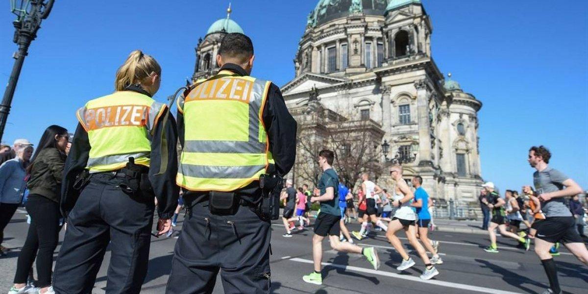 Frustran atentado en la maratón de Berlín