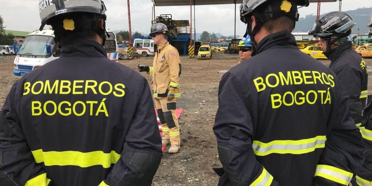 ¡Atención! Explosión en Bogotá deja dos personas heridas