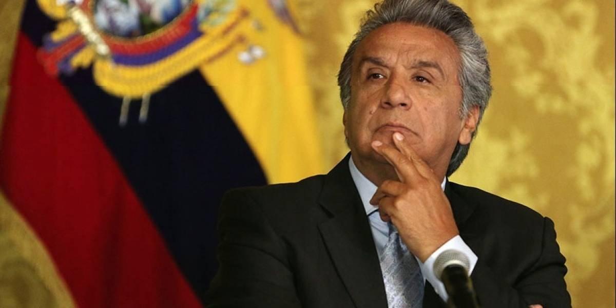 Lenín Moreno asistió al Clásico del Astillero 220