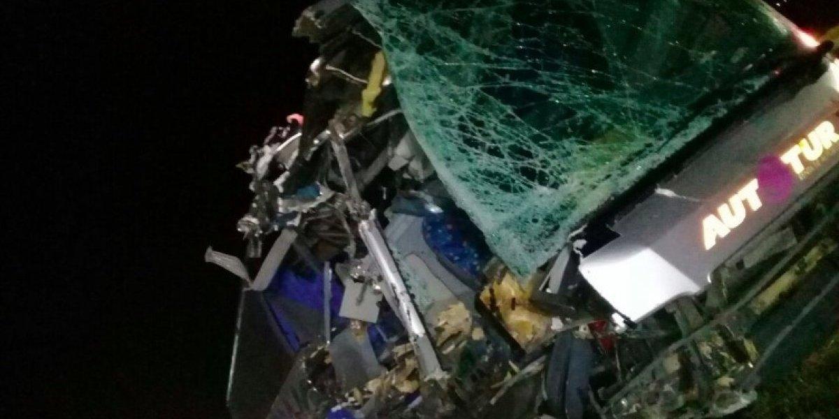 Equipo filial de los Tiburones Rojos de Veracruz sufre brutal accidente