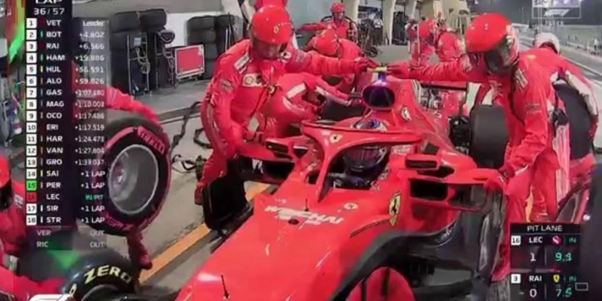 Escalofriante accidente en la Fórmula 1: Raikkonen atropelló a un mecánico en zona de pits