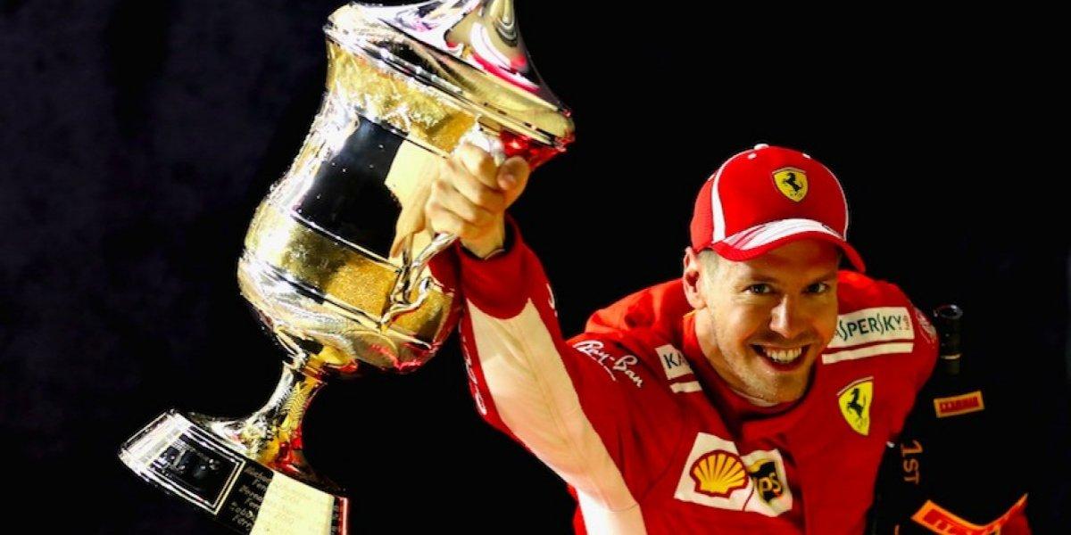Vettel conquista el GP de Bahréin; 'Checo' fuera del Top Ten