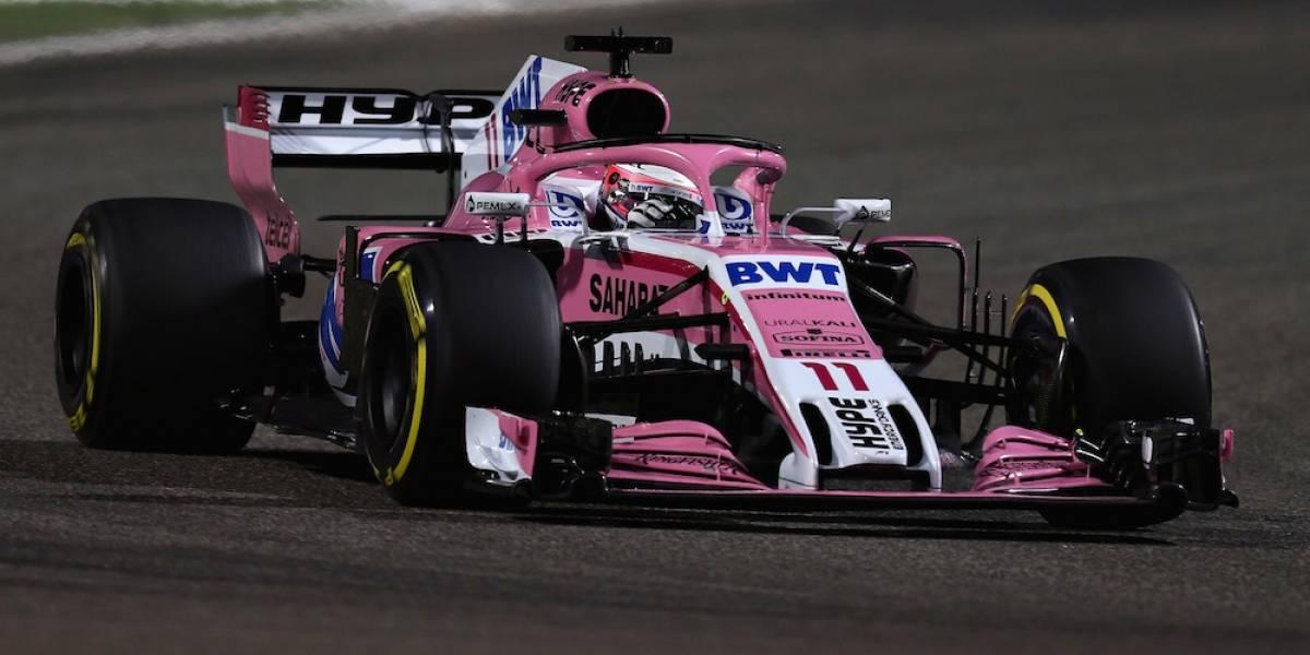 Penalizan a Sergio Pérez y termina el GP de Bahréin en el lugar 16
