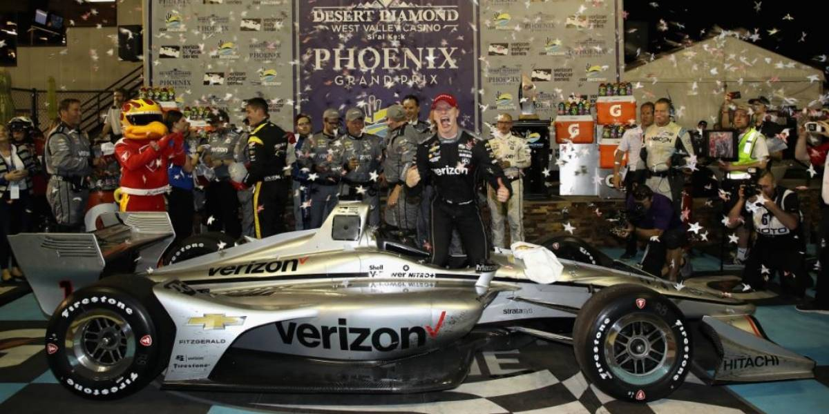 Newgarden acerta na estratégia e vence na Indy; Fittipaldi bate e abandona
