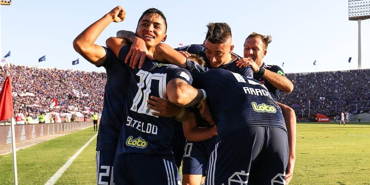 """¿Se burló la U? El """"amoroso"""" mensaje de los azules en Twitter cuando San Luis le ganó a Colo Colo"""