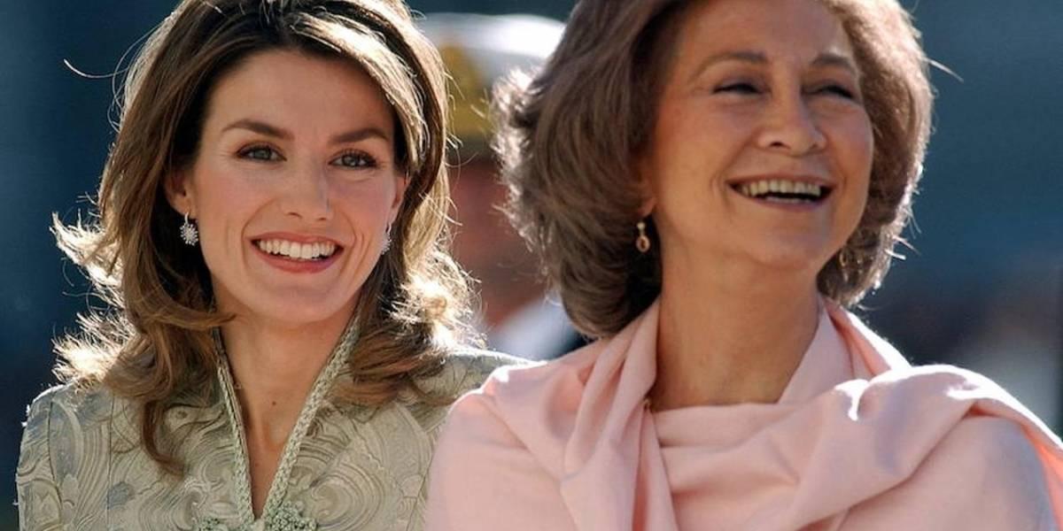 Se acabó la tensión en la monarquía: Letizia y Sofía aparecen sonriendo juntas y ponen fin al choque de reinas en España